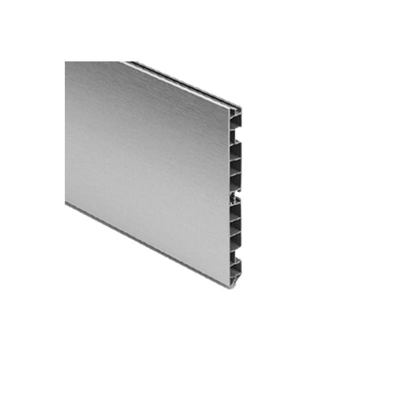 Zócalo plástico/aluminio alto 170mm - largo 3950mm: Ferretería ...